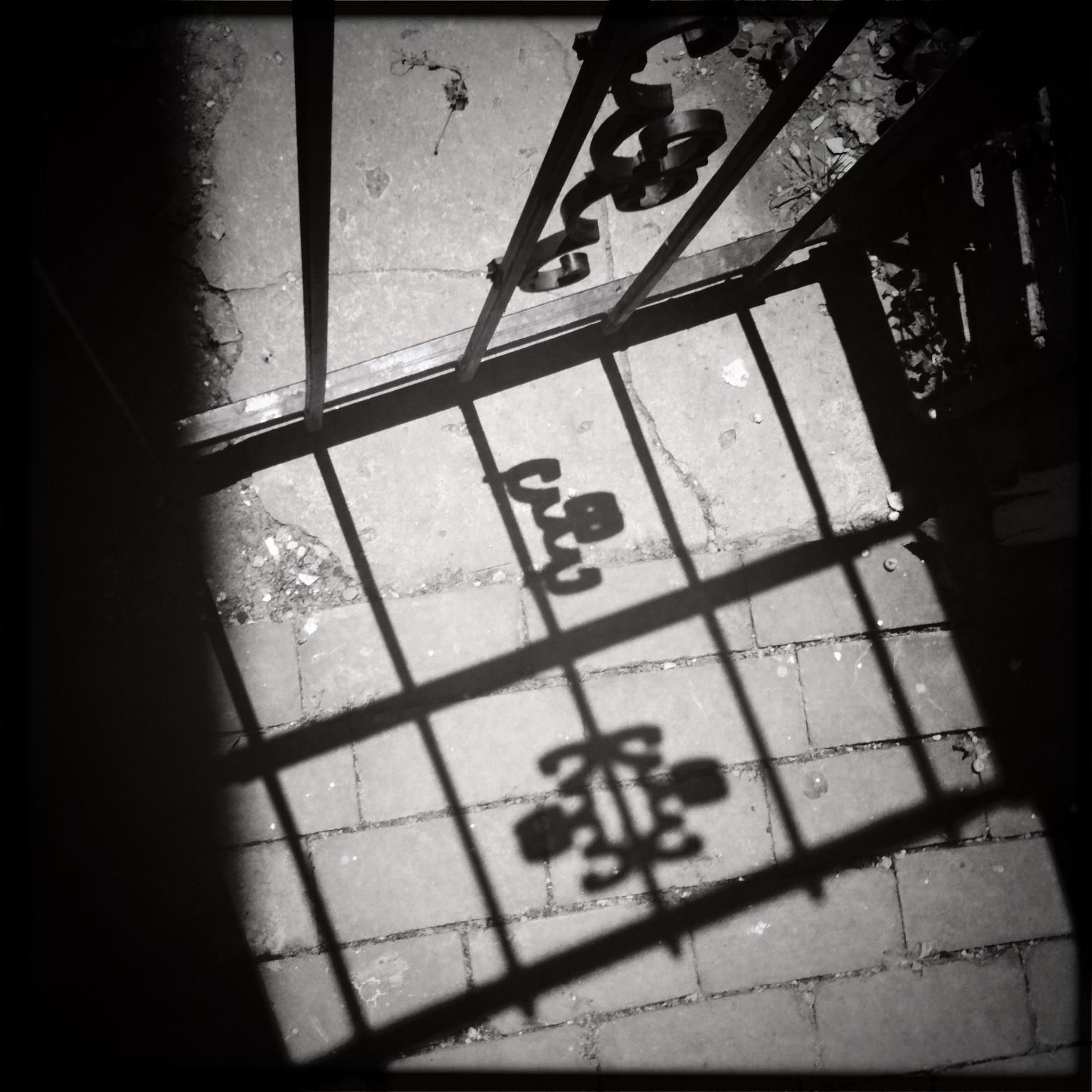 Old Town Alexandria shadows